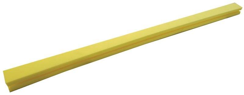 Butoirs de protection pour arêtes en mousse de polyéthylène jaune