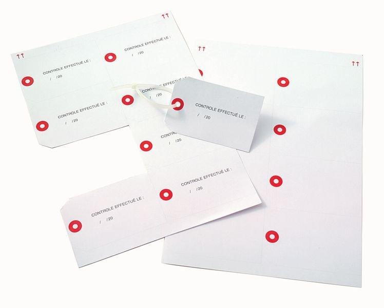 Etiquettes américaines cartonnées pour imprimante Laser