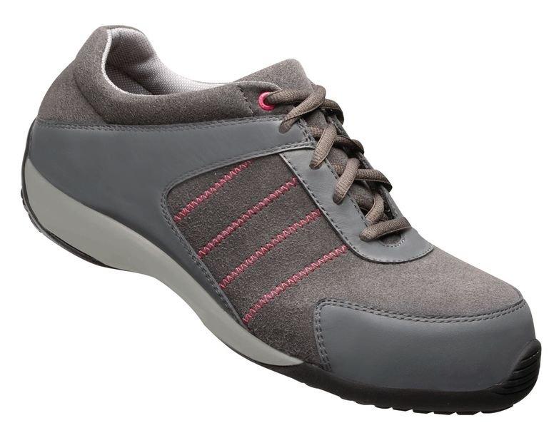 Chaussures de sécurité femme en cuir et microfibre, classe S1P