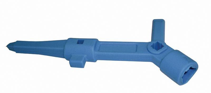 Clé en plastique polyvalente Pass system