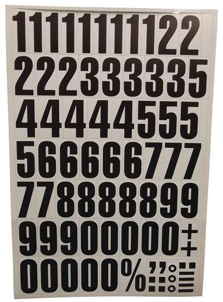 Set de chiffres et lettres magnétiques