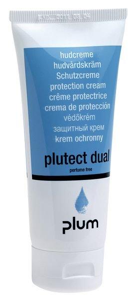 Crème de protection cutanée Plutect Dual avant le travail