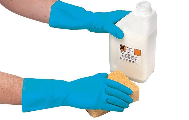Gant en caoutchouc synthétique pour l'industrie alimentaire