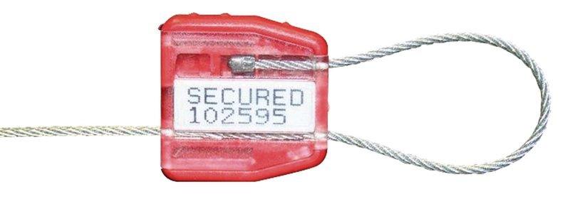 Scellé câble à fermeture sans butée d'arrêt