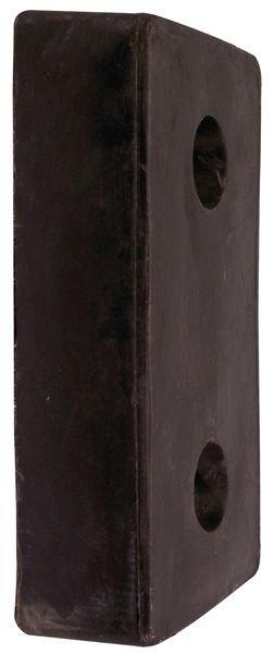 Butée de quai sur platine noire