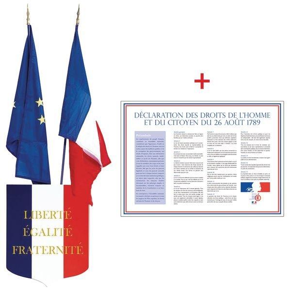Prix Spécial - Kit blason, drapeaux et affiches droits de l'homme