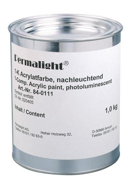 Peinture photoluminescente pour surfaces murales