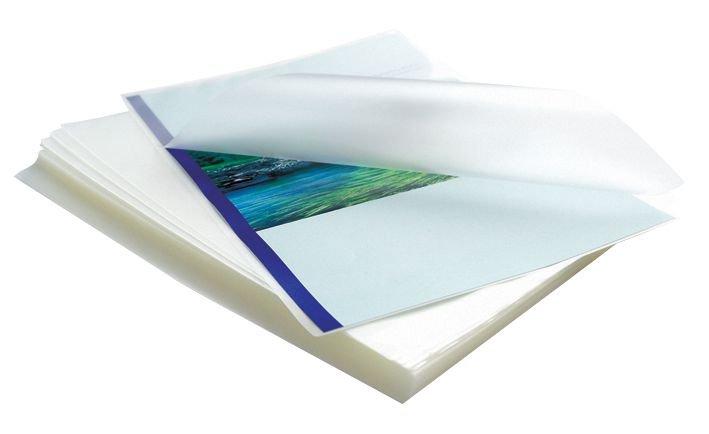 Pochettes pour plastifieuses avec dos adhésif
