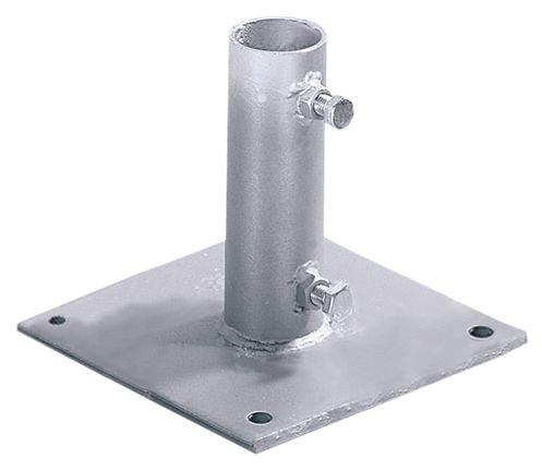 Platines de fixation pour poteaux de signalisation