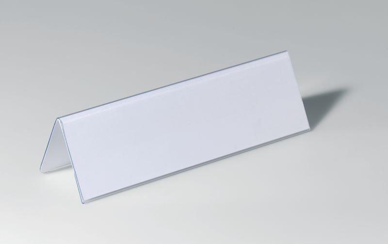 Porte-nom de table en PVC rigide