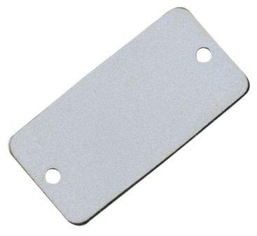 Plaques de firme vierges - Laiton ou aluminium