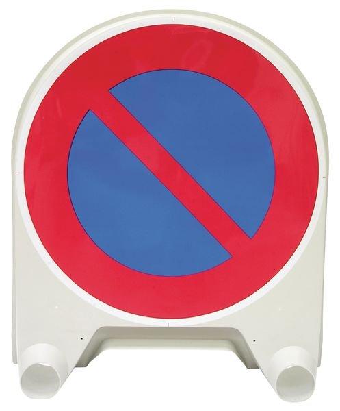 """Panneau de signalisation temporaire en polypropylène """"Stationnement interdit"""""""