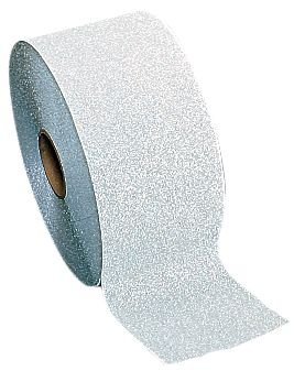 Bandes antidérapantes adhésives rétroréfléchissantes en aluminium Maxigrip - Puissance élevée