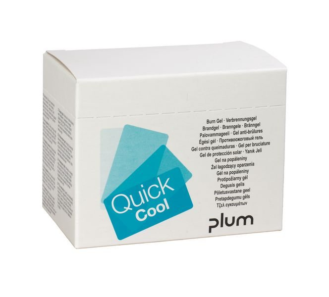 Gel anti-brûlures pour Quicksafe box.