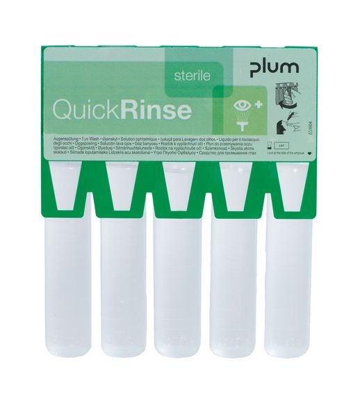 Ampoules rince-oeil Quicksafe