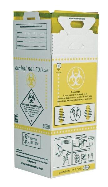 Cartons récupérateurs pour déchets infectieux (DASRI)