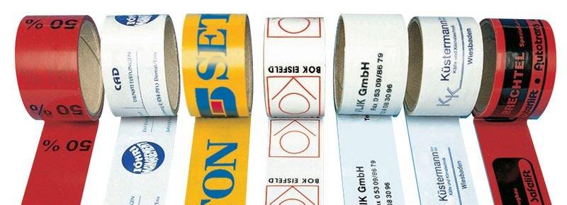 Rubans d'emballage spéciaux petites quantités