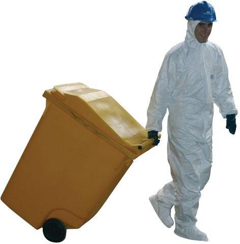 Kit absorbant mobile pour produits chimiques et nocifs