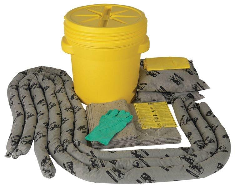 Kits antipollution pour tous liquides en fût