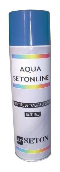 Peinture de marquage au sol base aqueuse en bombe aérosol ou en pot Setonline™