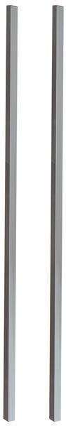 Poteaux de fixation pour vitrines VET1-2-3 et 4