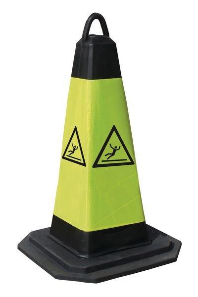 Cône de signalisation - Risque de dérapage