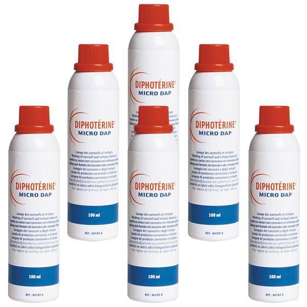 Spray pour rinçage oculaire à la Diphotérine