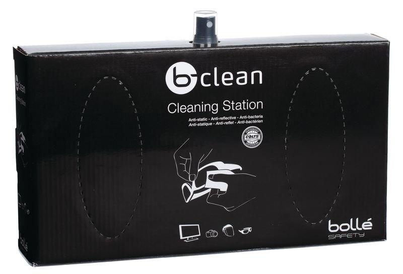 Station de nettoyage de lunettes de sécurité