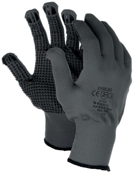 Gants de manutention en coton, sans coutures