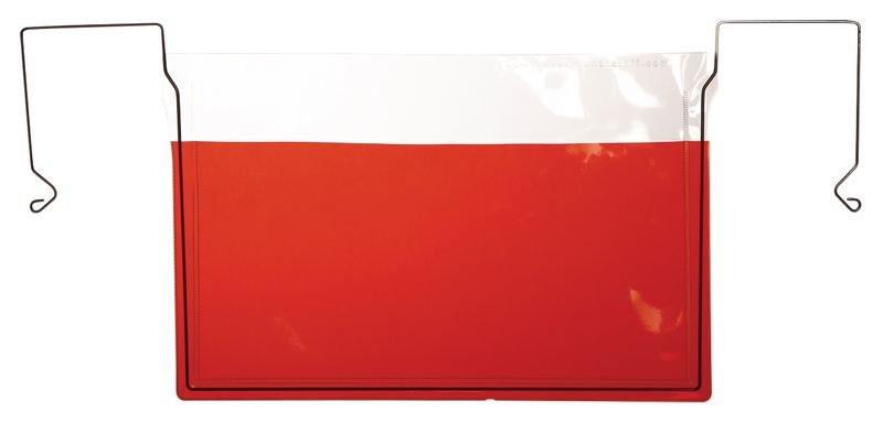 Pochettes transparentes à suspendre avec crochet