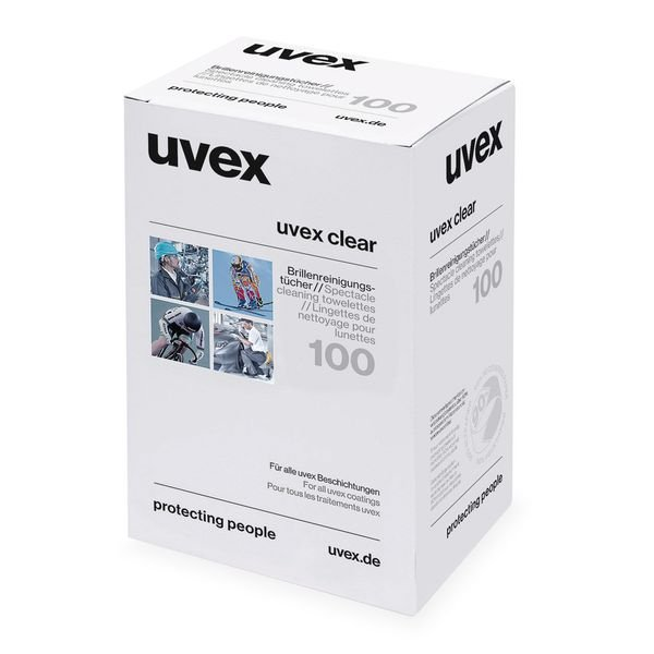 Lingettes Uvex pour lunettes de sécurité