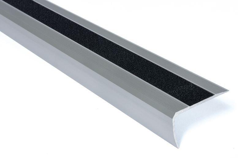 Nez de marche antidérapants en aluminium Easy Clean - Puissance 2