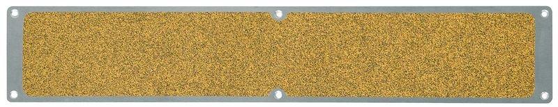 Plaques antidérapantes en aluminium jaune public antisalissures