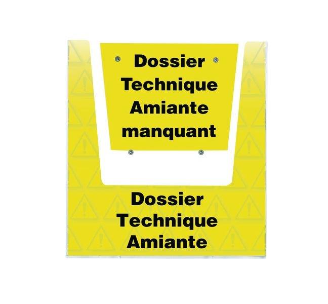 Porte-documents mural - Dossier Technique Amiante