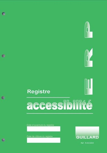 Registre accessibilité ERP