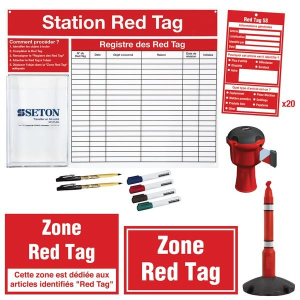 Kit complet pour zone Red Tag
