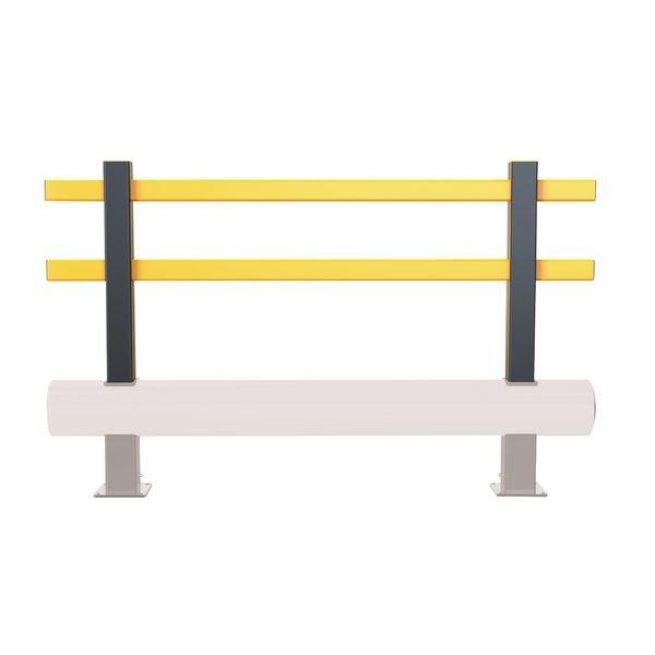 Extension en hauteur pour barrière de protection basse flexible