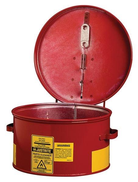 Cuves de trempage pour produits dangereux