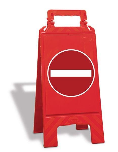 Chevalet de signalisation - Sens interdit