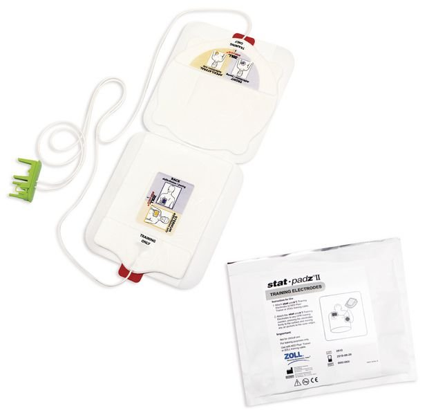 Electrodes CPRD pour défibrillateur de formation ZOLL AED+