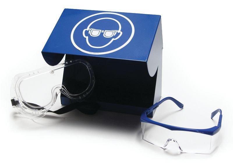 Boîtes de rangement EPI en acier laqué pour lunettes