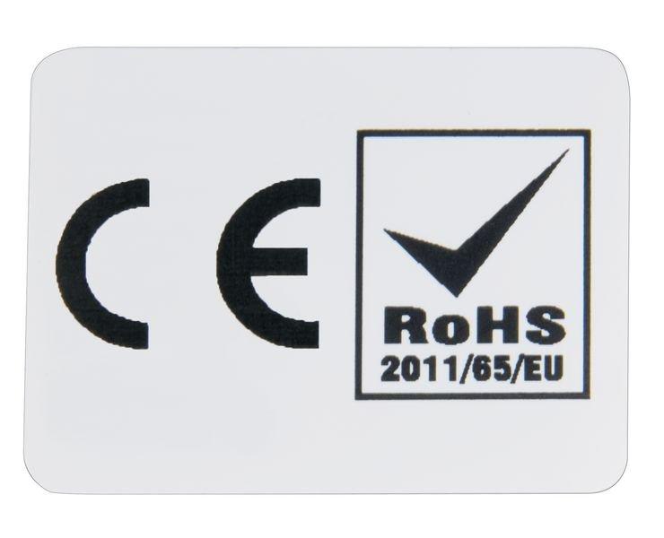 Étiquettes de conformité multi-directives CE et LSDEEE