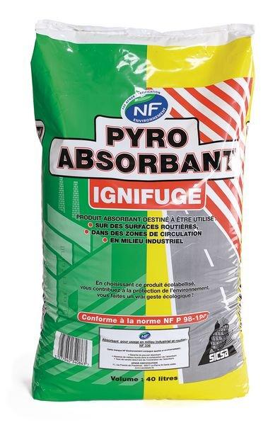 Absorbant végétal norme NF 336 pour usage routier