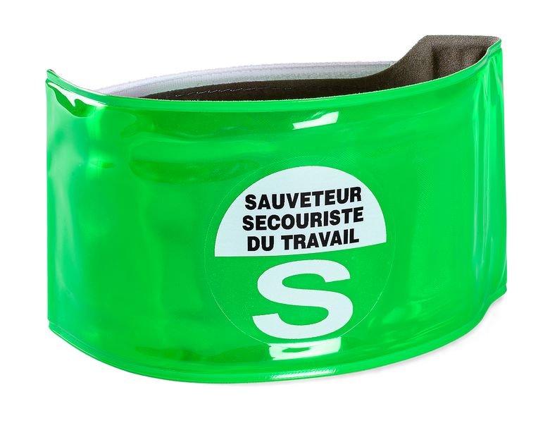 Brassard microprisme SST - Sauveteur Secouriste du Travail