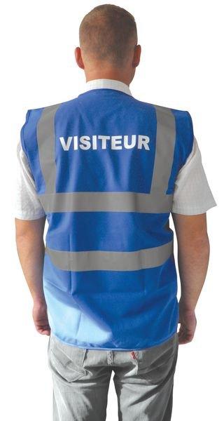 Gilet de sécurité pour visiteur