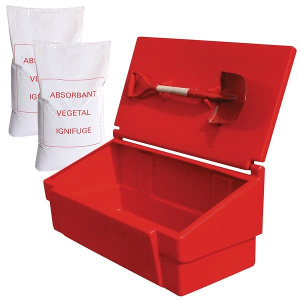 Kit d'épandage absorbant pour liquides industriels