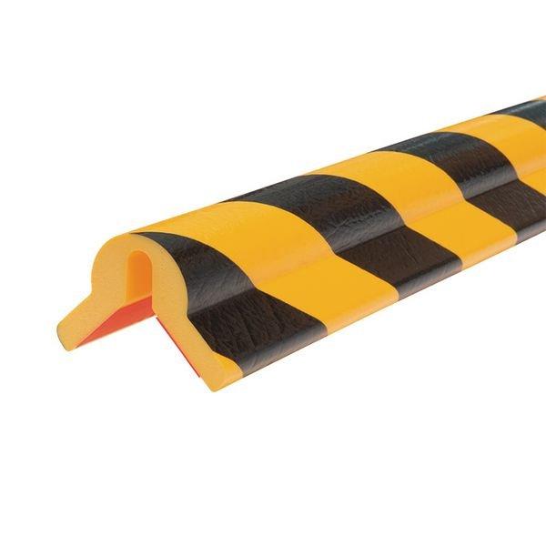 Cornière de protection en mousse Optichoc avec amorti spécial - coin de 35 mm