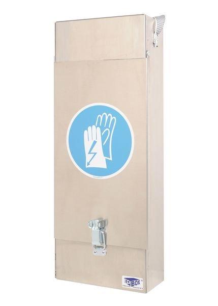 Boîte en aluminium pour gants électricien