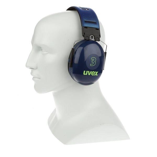 Casque auditif Uvex 3 - 31 dB