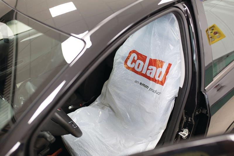 Couvre siège en plastique jetable